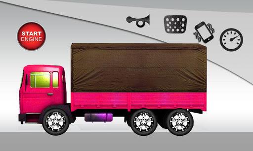 卡车的乐趣为孩子们