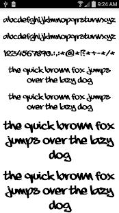 玩個人化App|Fonts for FlipFont Graffiti免費|APP試玩