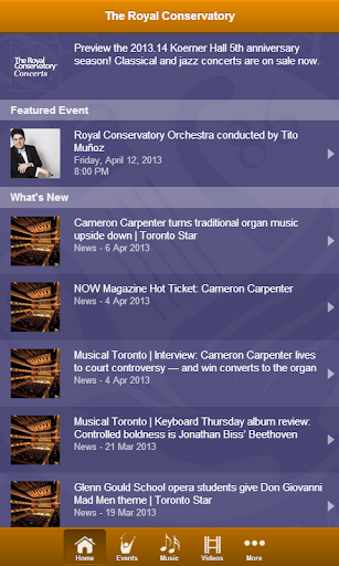 Royal Conservatory Concerts
