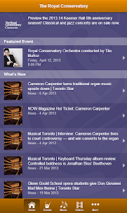 Royal Conservatory Concerts- screenshot thumbnail