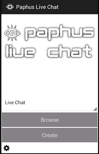 Paphus Live Chat