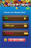 Screenshot of Guess My Word!