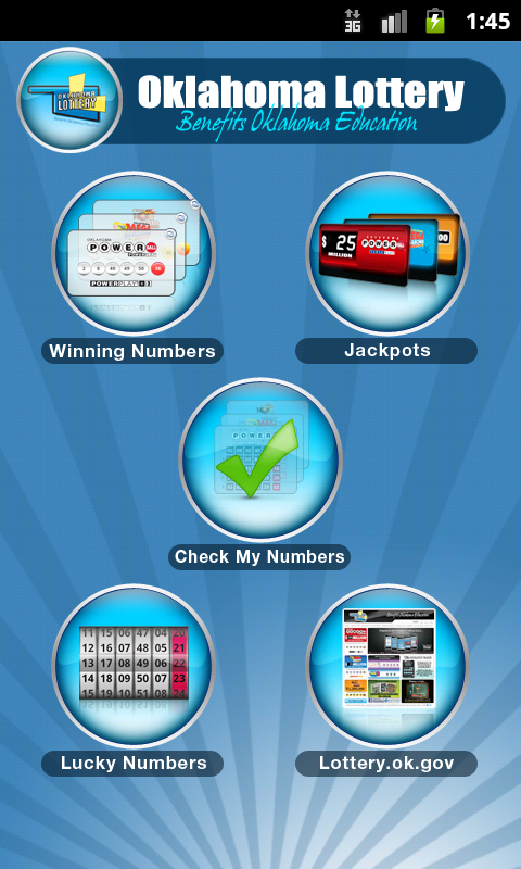 OK Lottery - screenshot