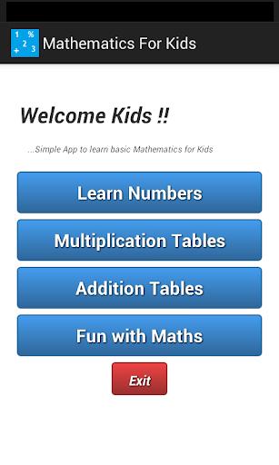 Mathematics for Kids