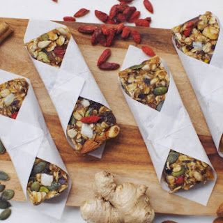 Raw Superfood Granola Bars