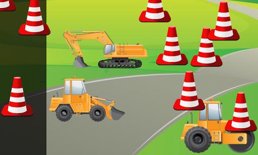 玩免費教育APP|下載車輛和挖掘機的孩子:工程車 ! app不用錢|硬是要APP