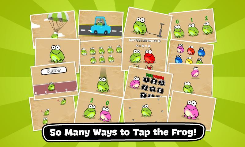 Tap the Frog: Doodle - screenshot