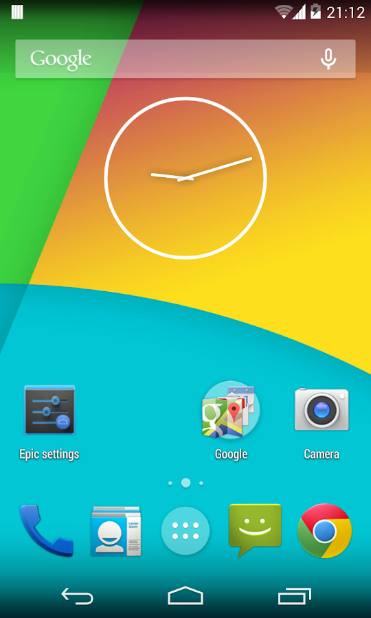 Epic Launcher (KitKat) - screenshot