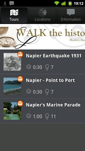 Walk the History - Napier NZ