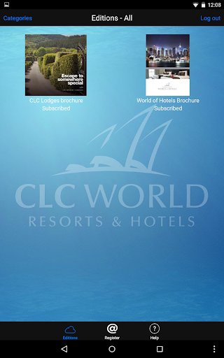 CLC World app (apk) free download for Android/PC/Windows screenshot