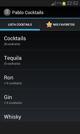 Pablo Cocktails Guide