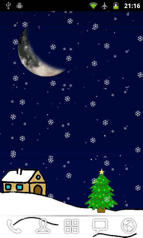 Christmas Live Wallpaper - screenshot