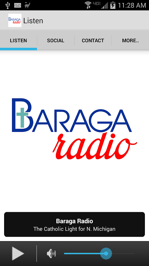Baraga Broadcasting- screenshot