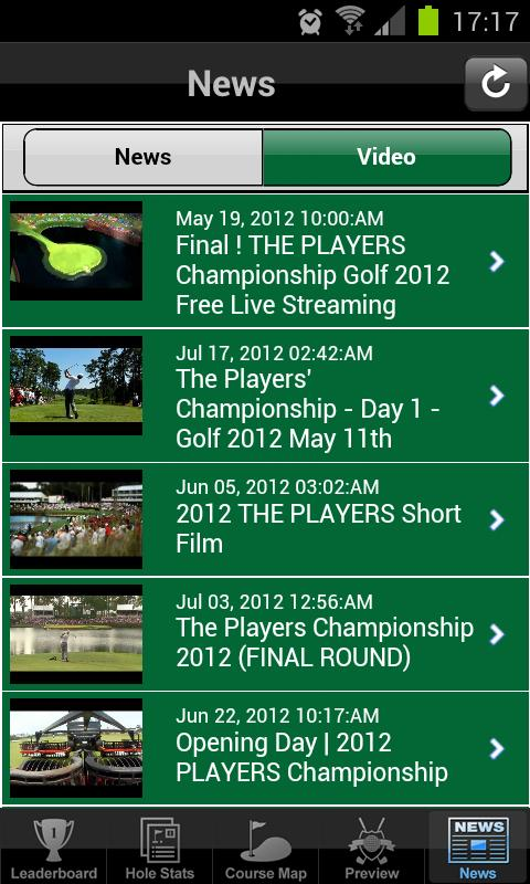 Golf Majors World Golf - screenshot