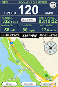 GPS Speedometer Altimeter  + screenshot 3