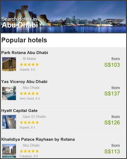 ABU DHABI HOTEL SAVEupto80 OFF