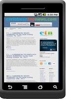 Screenshot of Caribbean Top News