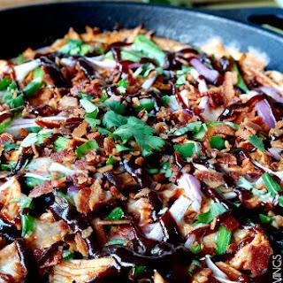 BBQ Chicken Pizza Dip
