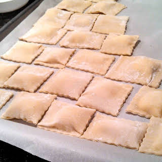 Homemade Ravioli.