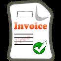 Invoice PDF  Free icon