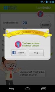 Johnny Grammar Word Challenge - screenshot thumbnail