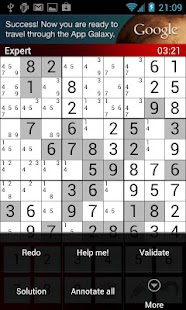 EZ Sudoku - screenshot thumbnail