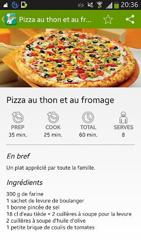 Recette Pizza Facille