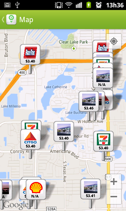 Fuelzee Cheap Gas Prices- screenshot