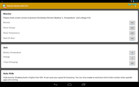 Battery Monitor Mini Pro v1.0.105 Patched