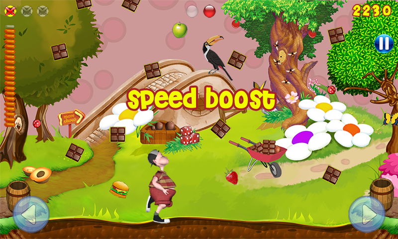 Barney In Chocoland- screenshot