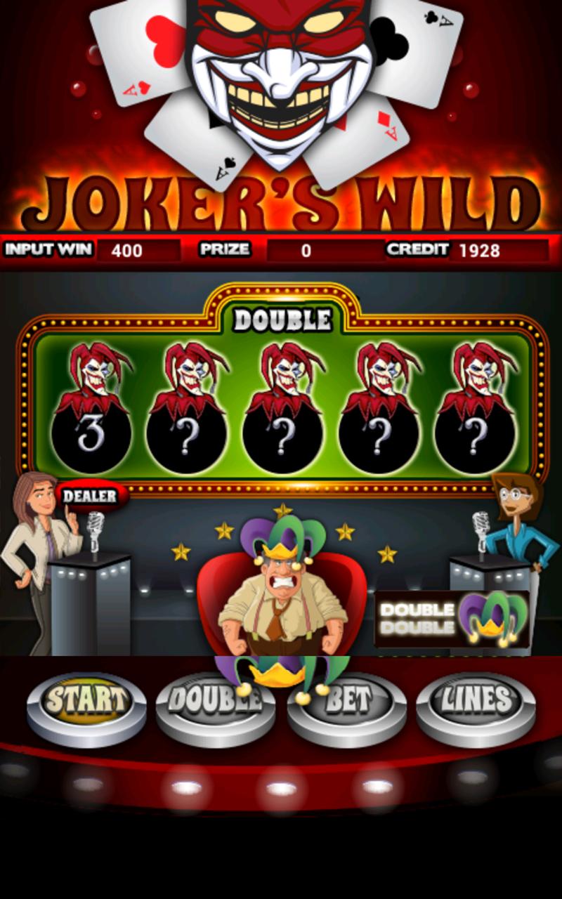 Jokers Wild Slot Machine HD screenshot #6