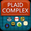 Plaid Complex GoLauncher Theme logo