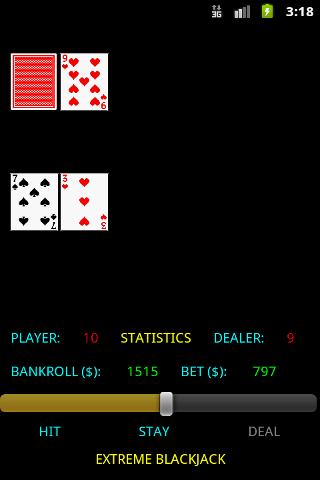 Blackjack extreme