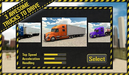 Trucker Parking 3D- screenshot thumbnail