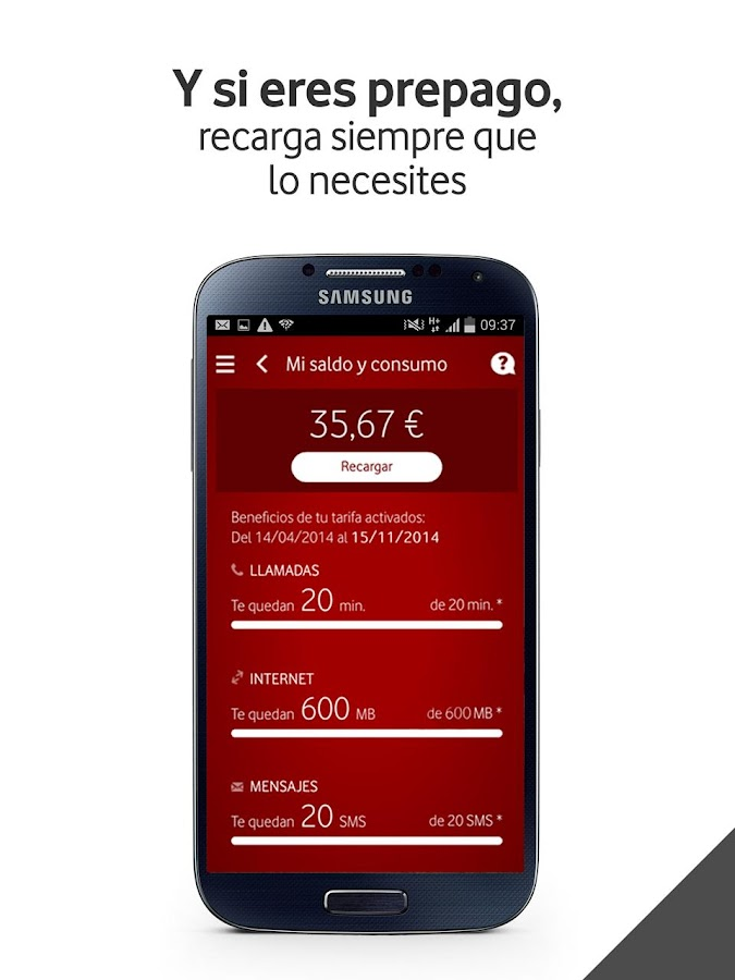 Mi Vodafone- screenshot