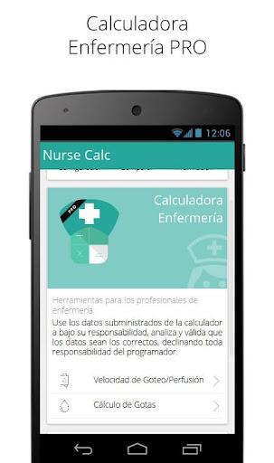 Calculadora Enfermería PRO