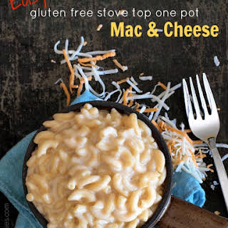 Easy Gluten Free Stove Top One Pot Macaroni and Cheese.