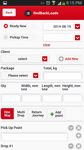 Freight Invoicing App