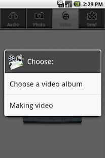 Audio,Photo,Video to EMail PRO - screenshot thumbnail