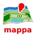 Helsínquia Mapa mappa offline icon