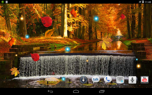玩個人化App|Autumn Voices live wallpaper免費|APP試玩