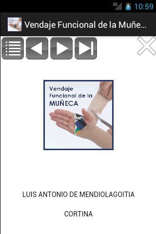 Vendaje Funcional de la Muñeca- screenshot
