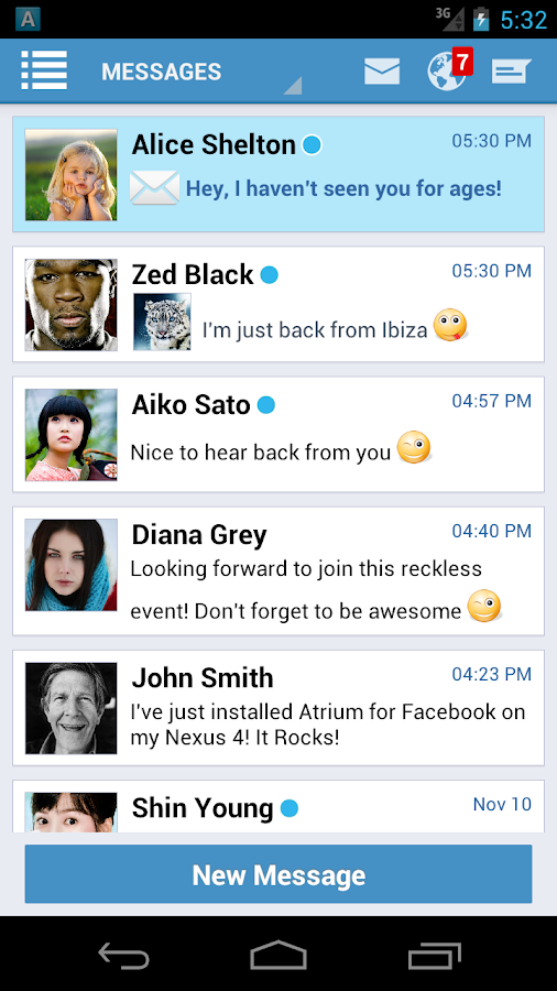 Atrium for Facebook - screenshot