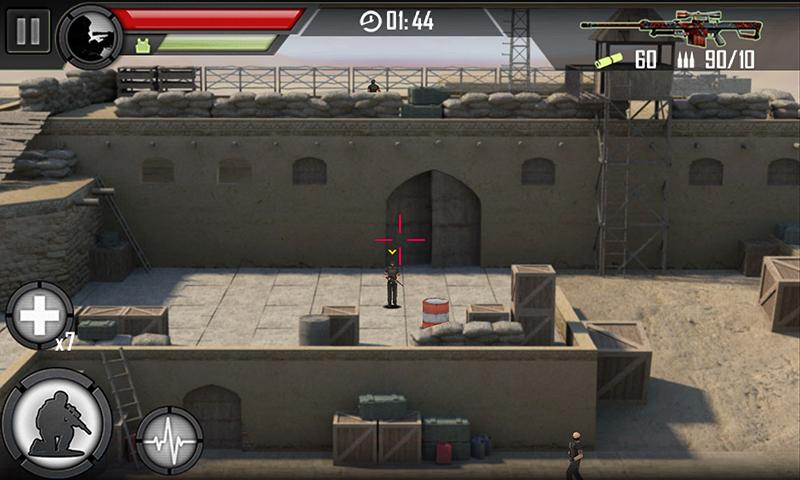 Screenshots of Modern Sniper for iPhone
