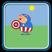 Pig Hero Memory