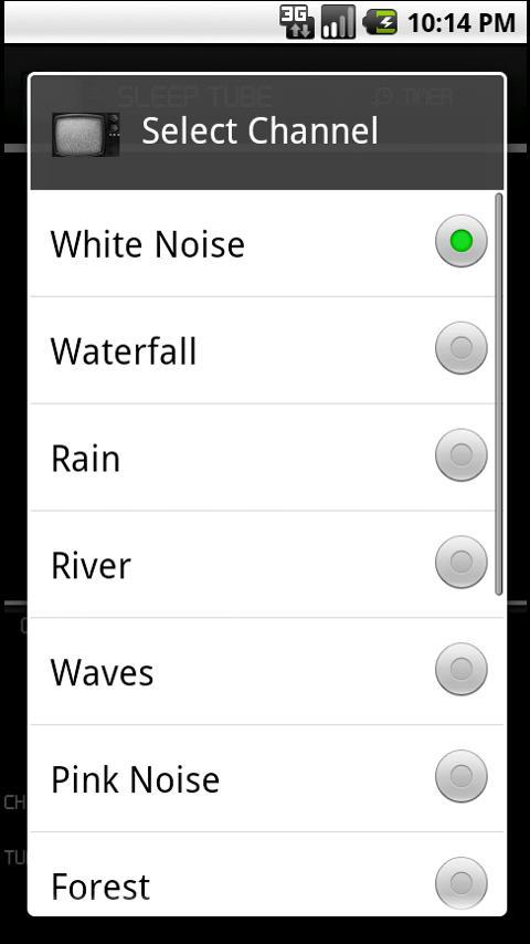 Television White Noise FREE- screenshot