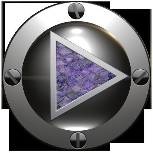 poweramp 皮膚紫のヘビ 音樂 App LOGO-硬是要APP