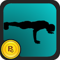 Push Up – workout routine logo