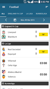 ScoreCenter: LIVE SCORE - screenshot thumbnail