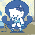 Hello Kitty Blue Wallpapers icon